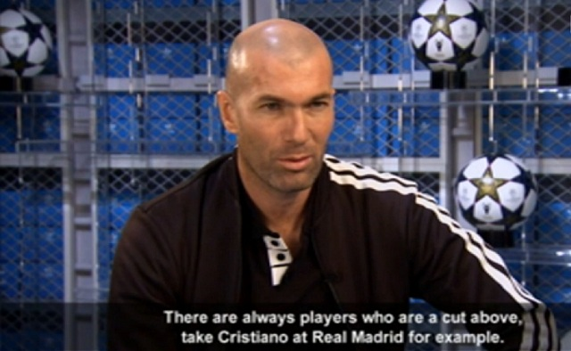 Zinedine Zidane doesn't feel Gareth Bale can yet be compared to the likes of Lionel Messi or Cristiano Ronaldo, but he is not far off , he said