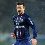 David Beckham performing for PSG