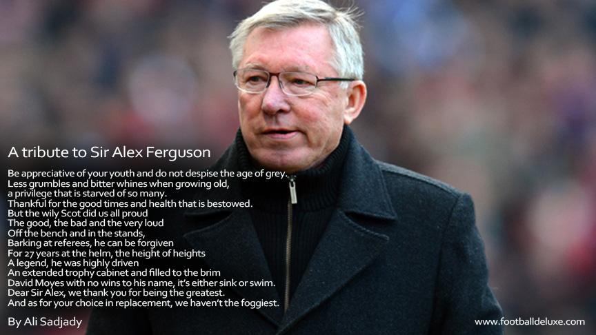 A tribute to Sir Alex Ferguson
