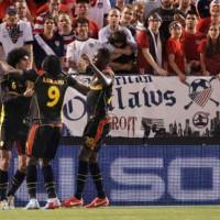 Belgium shows USA how to play football