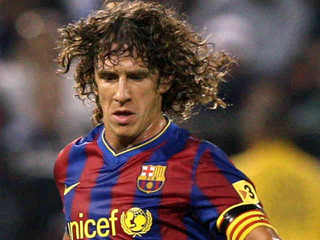 Carles Puyol wants FC Barcelona to come back up again in football