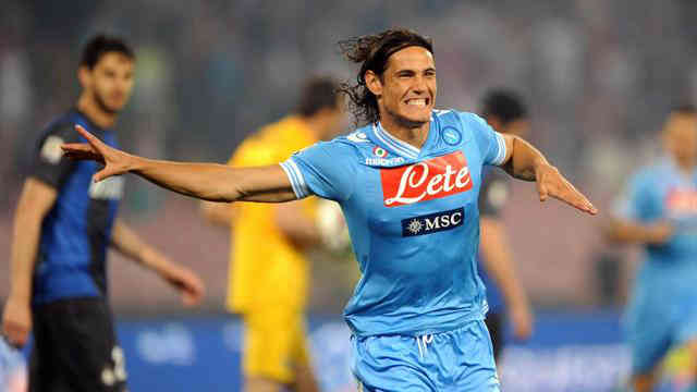 Cavani continues to score more goals in his club as they beat Inter Milan