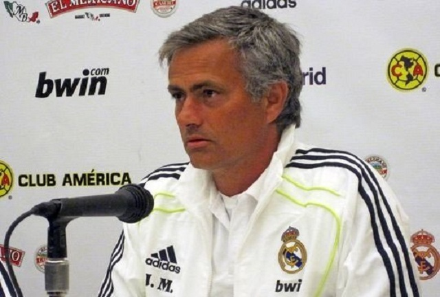 Current Real Madrid boss Jose Mourinho in press conference
