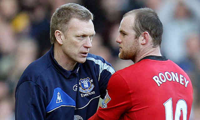 David Moyes is trying to convince Rooney to stay in Manchester United