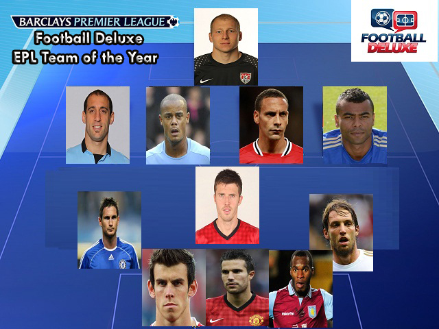 Football Deluxe, EPL Team of the Year