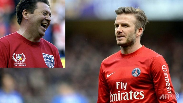 Former England winger Chris Waddle says David Beckham is not one of the top 1,000 players of the last 40 years.