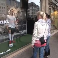 Franck Ribery shocks public in hilarious hidden camera prank
