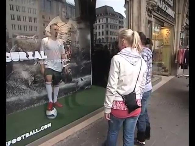 Franck Ribery shocks public in hilarious hidden camera prank