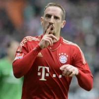 Franck Ribery will continue to play for the German giants, Bayern Munich