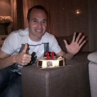 The double for Iniesta