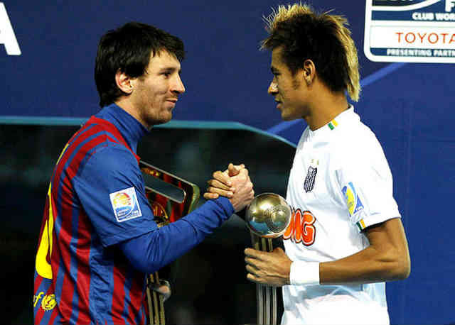 It has finally come that Neymar has now joined FC Barcelona and will play along side Lionel Messi
