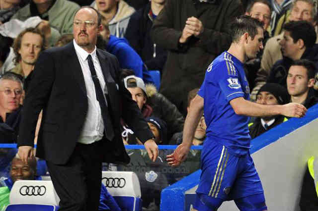 Lampard will not miss Benitez as when he goes
