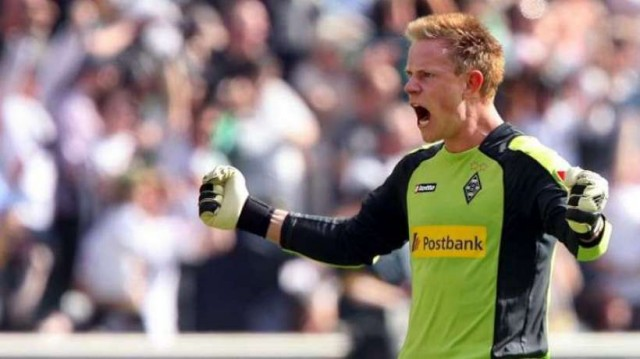 Marc-André Ter Stegen, the current goalkeeper of Borussia Mönchengladbach. Under contract until 2015, the German is one of the most highly rated young keepers from last season
