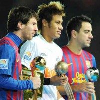 Neymar looking forward to playing with Lionel Messi