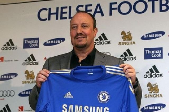 Rafael Benitez Chelsea 'interim' manager