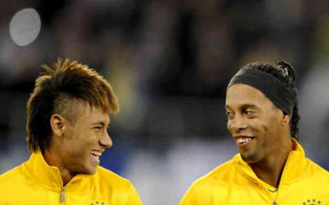 Ronaldinho believes that Neymar being accepted at FC Barcelona will boost his skills up to another level