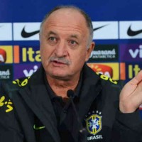 Scolari announced Neymar at Barcelona this summer!