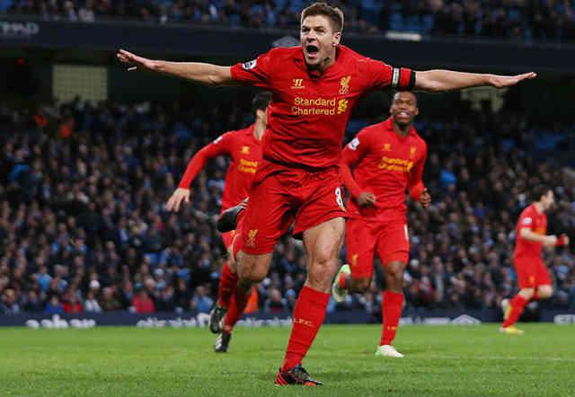 Steven Gerrard believes that Luis Suarez isn't leaving any time soon