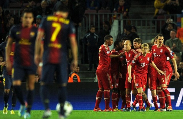 heir victory over Barcelona was swift and impressive, but it was a result of years of planning and preparation. It was not a success that happened over night.
