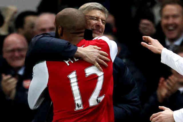 Thierry Henry believes that Arsene Wenger will stay in Arsenal