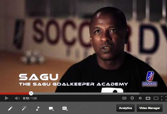 Sagu one of the top Goal Keeper trainers in the US