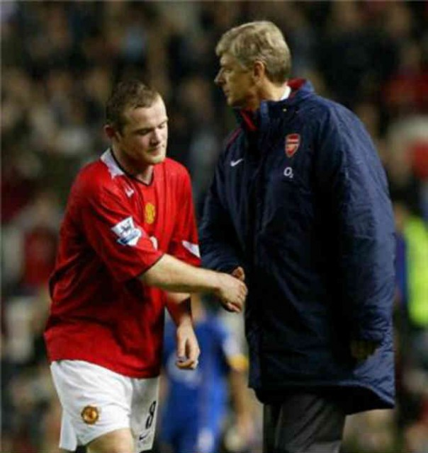 Arsene Wenger will not turn down the offer if Wayne Rooney would go to Arsenal