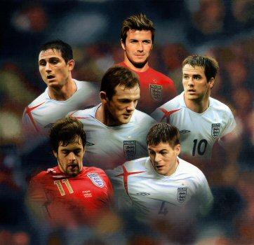 David Beckham and England's Golden Generation