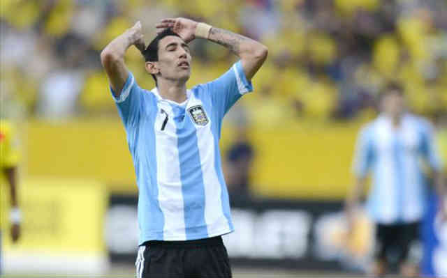 Di Maria upset with the result that they brought as a country