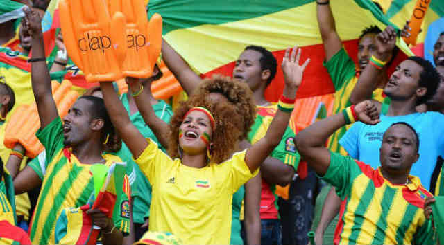 Ethiopia have qualified for the knockout stage by beating South Africa