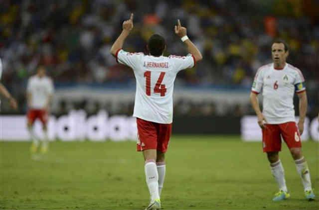 Hernandez gets both his goals against Japan