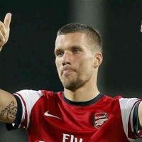 In the German league their are eyes are on Lukas Podolski