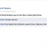 Jose Mourinho chats on Facebook with Moyes and Guardiola-comedy