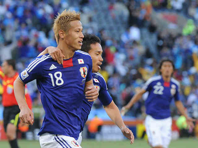 Keisuke Honda has been shown favour with AC Milan-