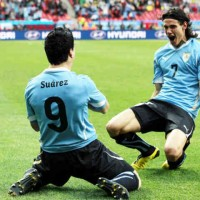 Suarez to replace Cavani?