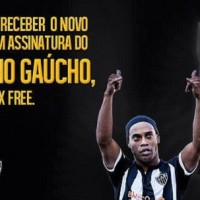 Ronaldinho is the new condom king