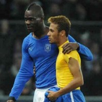 Neymar wants to become friends with Balotelli