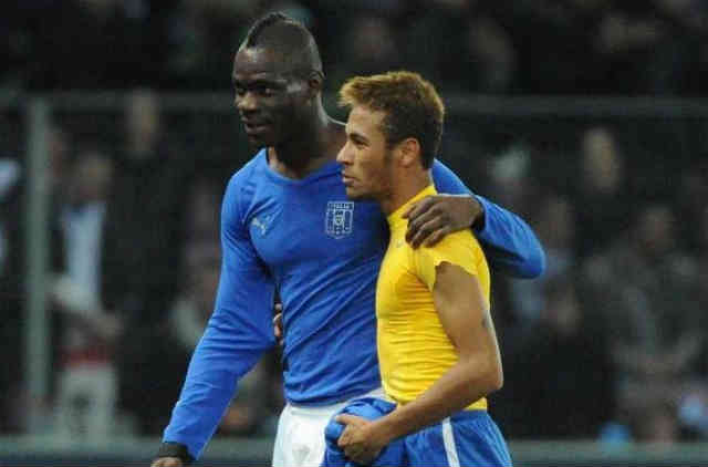 Neymar and Balotelli could be good friends