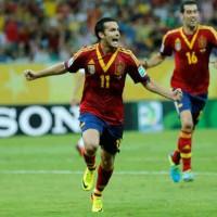 Spain 2 : 1 Uruguay Confederation Cup Highlights