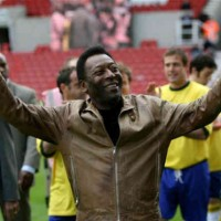 Pele doesn't go easy on the Brazilian team