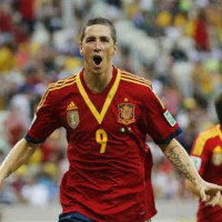 Torres comes in on the pitch and scores straight after