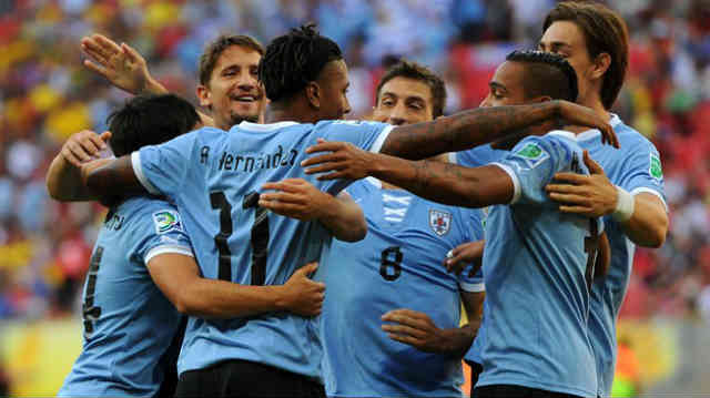 Uruguay win by landslide