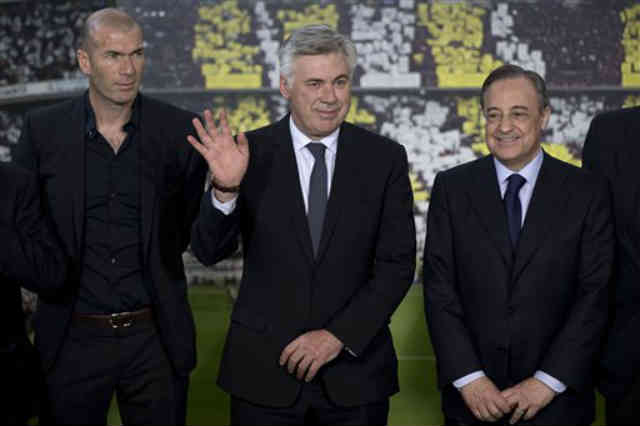 Zidane has become the assistant coach for Real Madrid