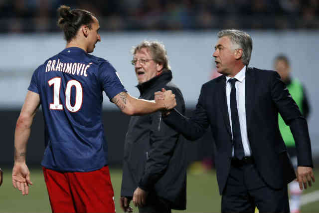 Ancelotti does not want Zlatan to join Real Madrid