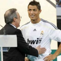 Florentino Perez shows praises to the star of Real Madrid, Cristiano Ronaldo