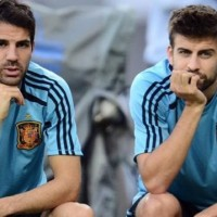 Gerard Pique: Man United 'wasting their time' bidding for Cesc Fabregas