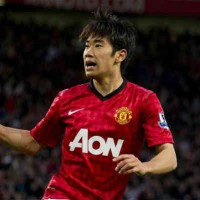Kagawa seems to be happy where he is now with Manchester United