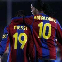 Lionel Messi praises Ronaldinho