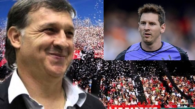 Messi is a big fan of Tata Martino for what he did with the Newells Old Boys
