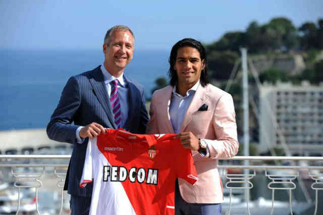 Radamel Falcao has made his decision to go to AS Monaco