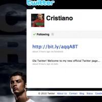 Cristiano Ronaldo #1 on Twitter!